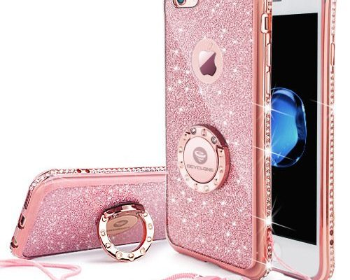 Cute Iphone 6 Plus 6s Plus Case Girls With Stand Bling