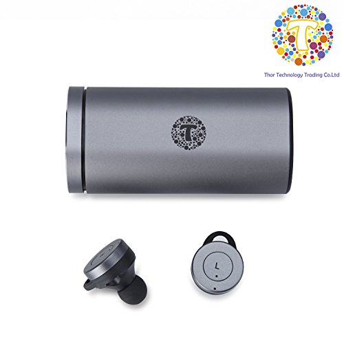 Thor shocking True Wireless Bluetooth earphone Earbuds with Charging Case (Android IOS)-T1