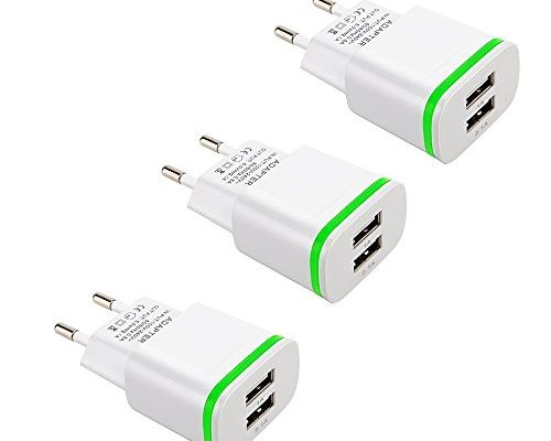 1 a wall charger x 3. Blu: advance 5. 0/advance 4. 0/life one x/Studio Energy 2. This led glow wall charger with dual usb ports are a highly durable, ...