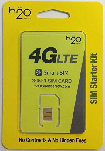 H2O Wireless SIM Card Kit H2O Wireless – MallFive