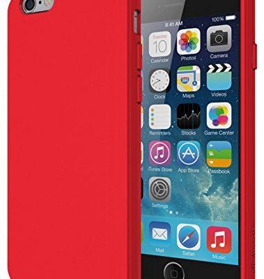 the latest 734a8 35d59 Matte Red – iPhone 6 Case, Diztronic Full Matte Soft Touch Flexible ...
