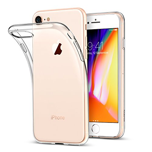 new arrival 37d9f f43aa iPhone 8 Case, iPhone 7 Case, ESR Crystal Transparent Clear Flexible ...