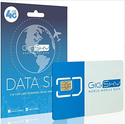 Keepgo Global Lifetime 4G LTE Data SIM Card for Europe, Asia