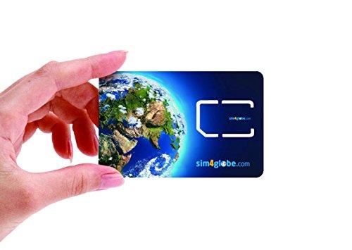 Keepgo Global Lifetime 4G LTE Data SIM Card for Europe, Asia & the