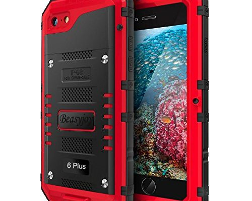 buy online 5e747 36bda Iphone 6 Plus Case with Built-in Screen Military Grade Protective ...