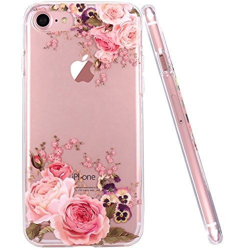 Iphone 6 Case Iphone 6s Case Jaholan Girls Floral Pattern Clear