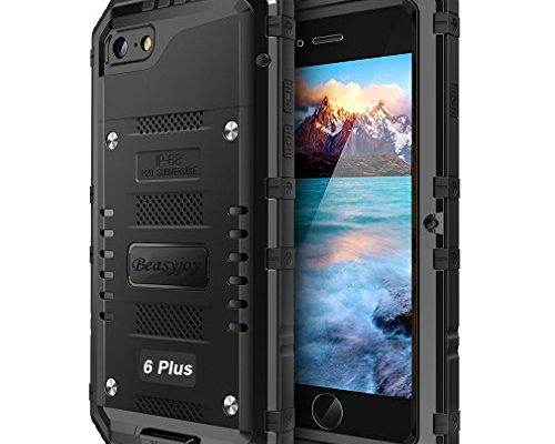 buy online 61810 86700 Iphone 6 Plus Case with Built-in Screen Military Grade Protective ...