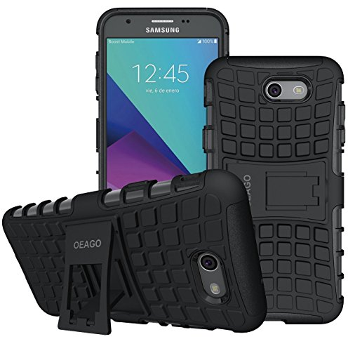 Galaxy J7 V Case, Galaxy J7 Prime Case, Galaxy J7 Perx Case, Galaxy J7 Sky Pro / Galaxy Halo Case, OEAGO Samsung Galaxy J7 2017 Case Tough Rugged Dual Layer ...