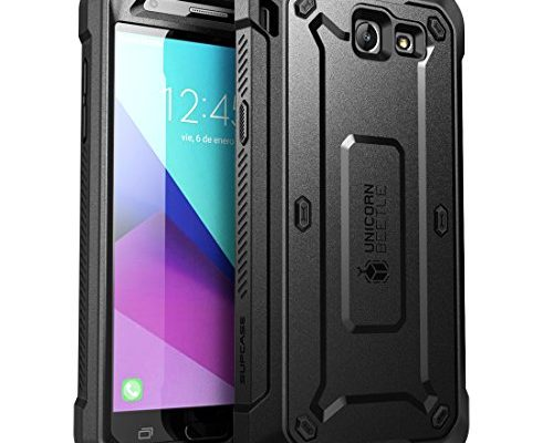 Samsung Galaxy J7 2017 Case, SUPCASE Unicorn Beetle Pro Series Full-body Rugged Holster Case with Built-in Screen Protector for Galaxy J7 2017/J7 V/ J7 Sky ...