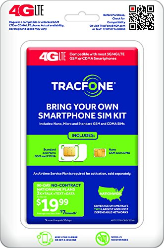 TracFone Bring Your Own Phone SIM Activation Kit – MallFive
