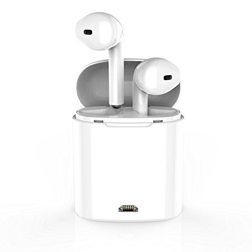 WSCSR Wireless Bluetooth Earbuds Headphones Stereo In-Ear