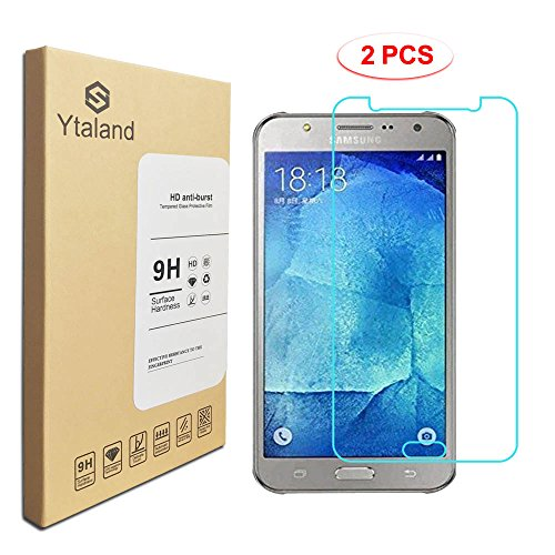 2 Pack Samsung Galaxy J7 Neo J701M Screen Protector, Tempered Glass Anti-fingerprints Thin 9H Screen Hardness Screen Protector For Samsung Galaxy J7 Neo ...