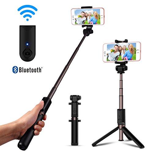 Bluetooth Selfie Stick Foldable Tripod Luxsure