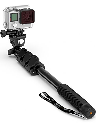Recommended for 1 gopro hero & session 2 gopro omni vr 360 3 mini camcorders 4 action cams 5 sports cameras 6 digital compacts 7 iphones bonus mount ...