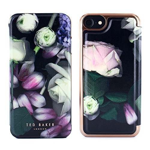 b56a170ee Official ted baker folio case for the Apple iPhone 8   7. The kensington  floral print channels brazen femininity with pale pastel blooms and green  foliage ...