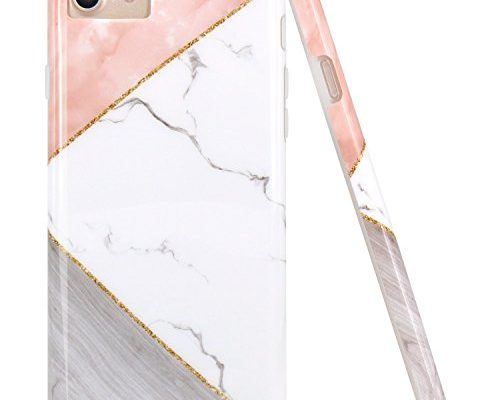 Iphone 7 8 Case Iphone 6 6s Case Jaholan Pink Geometric White