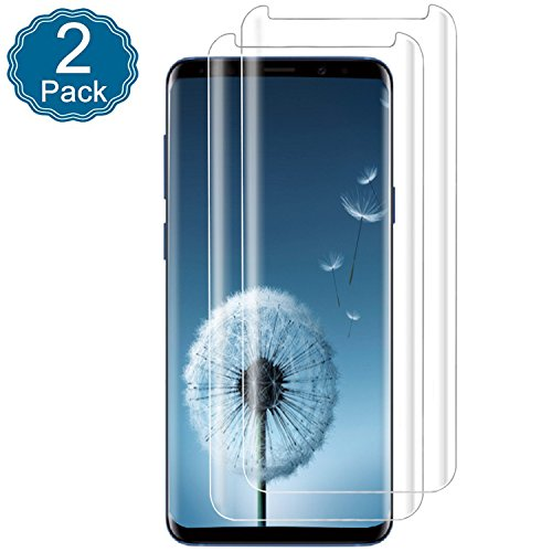 Galaxy S9 Plus Clear Screen Protector 3D Curved EdgeScratch
