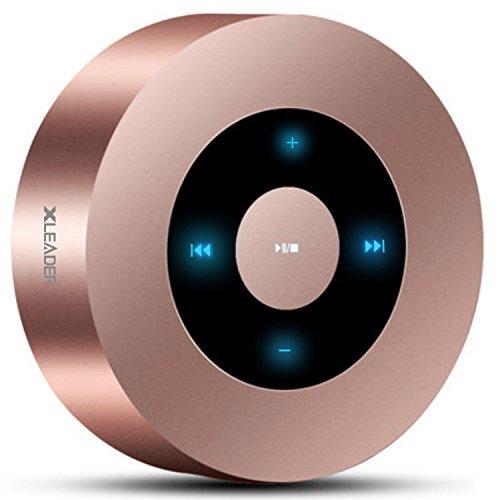 LED Touch Design Bluetooth Speaker, XLeader Portable Speaker