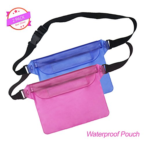 Universal Waterproof Case Ansots Wateproof Phone Pouch for