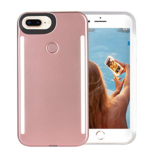 iPhone 6 Case, COSLIGHT LED Light Up Selfie Phone Case