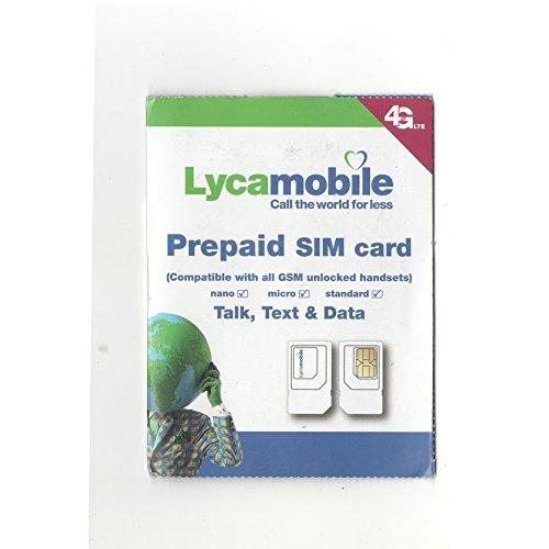 Unlimited 4G LTE Data, Talk & Text